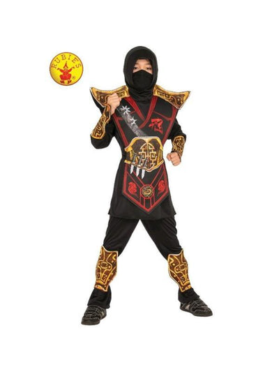 BATTLE NINJA COSTUME, CHILD-Costumes - Boys-Jokers Costume Hire and Sales Mega Store