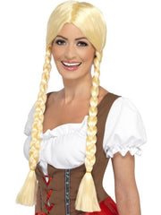 Bavarian Beauty Wig-Wigs-Jokers Costume Hire and Sales Mega Store
