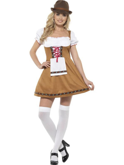 Bavarian Beer Maid Costume-Costumes - Women-Jokers Costume Hire and Sales Mega Store