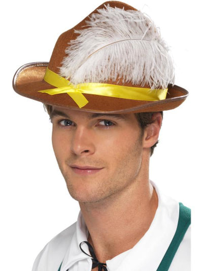 Bavarian Hat-Hats and Headwear-Jokers Costume Hire and Sales Mega Store