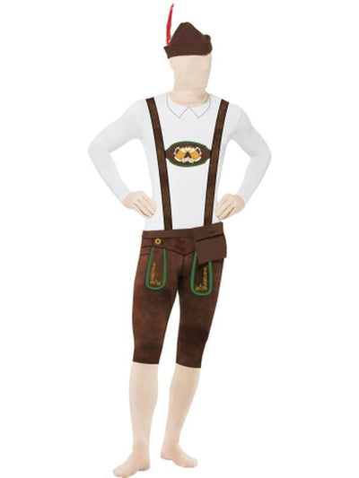 Bavarian Second Skin Suit, with Hat-Costumes - Mens-Jokers Costume Hire and Sales Mega Store