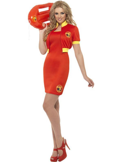 Baywatch Beach Lifeguard Costume-Costumes - Women-Jokers Costume Hire and Sales Mega Store