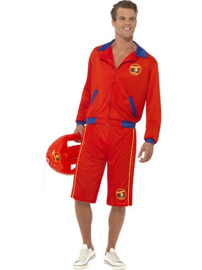 Baywatch Beach Men's Lifeguard Costume-Costumes - Mens-Jokers Costume Hire and Sales Mega Store