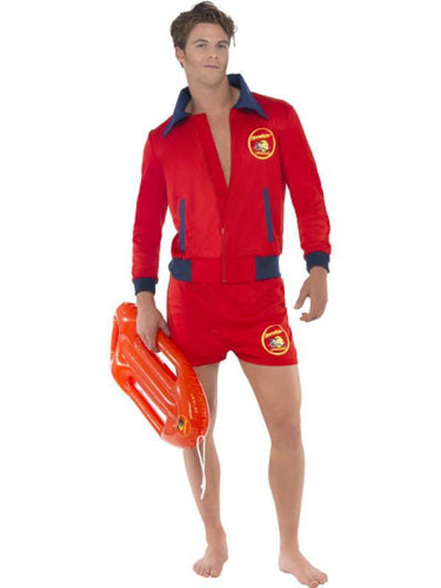 Baywatch Lifeguard Costume.-Costumes - Mens-Jokers Costume Hire and Sales Mega Store