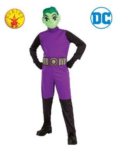 BEAST BOY CLASSIC COSTUME, CHILD-Costumes - Boys-Jokers Costume Hire and Sales Mega Store