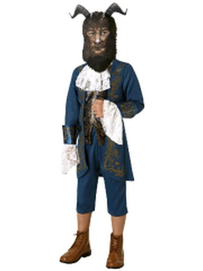 Beast Live Action Deluxe Costume - Size L 7-8Yrs-Costumes - Boys-Jokers Costume Hire and Sales Mega Store