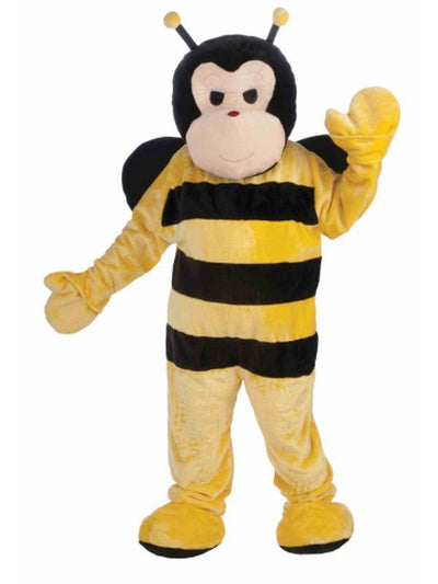 Bee Deluxe Mascot Costume - Size Std-Costumes - Mens-Jokers Costume Hire and Sales Mega Store