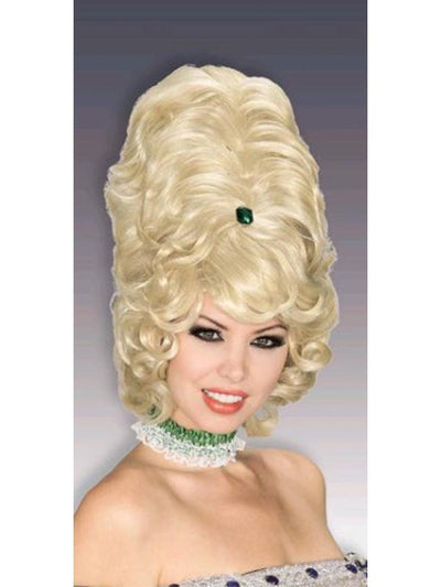 Beehive Blonde Wig Adult.-Wigs-Jokers Costume Hire and Sales Mega Store
