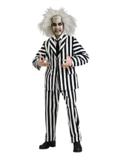 Beetlejuice Collector'S Edition - Size Xl-Jokers Costume Mega Store