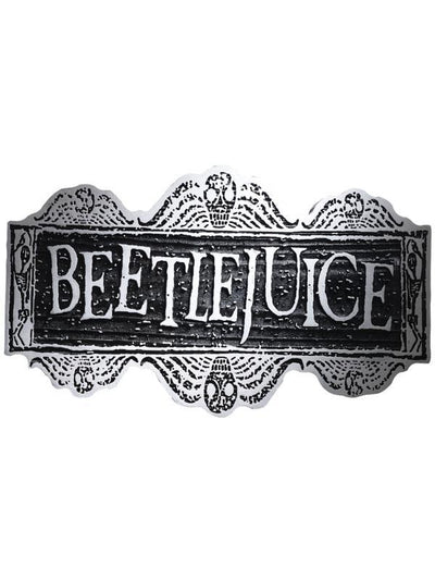 Beetlejuice Sign-Costume Accessories-Jokers Costume Hire and Sales Mega Store