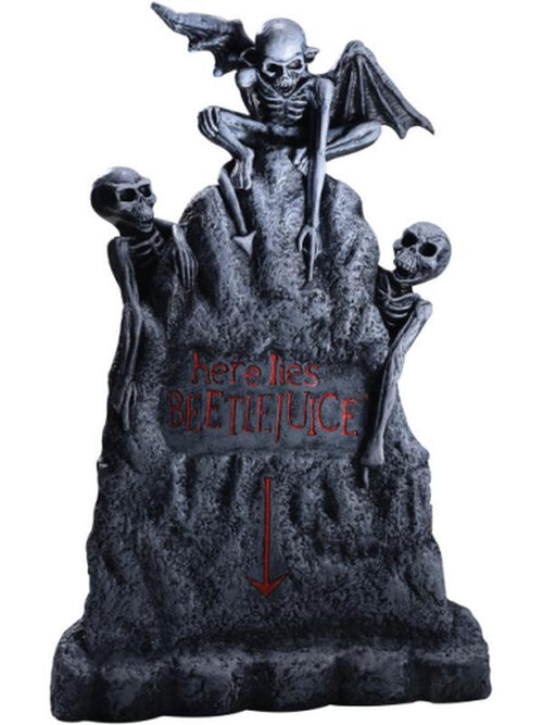 Beetlejuice Tombstone - Large-Halloween Props and Decorations-Jokers Costume Hire and Sales Mega Store