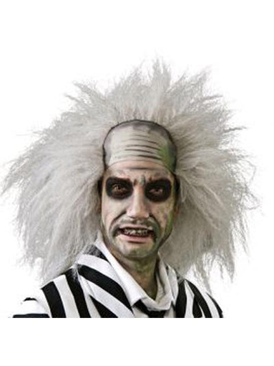 Beetlejuice Wig Adult-Wigs-Jokers Costume Mega Store