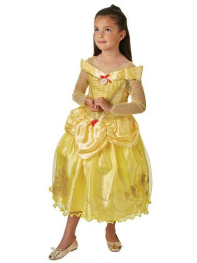 Belle And The Beast Ballgown - Size M-Costumes - Girls-Jokers Costume Hire and Sales Mega Store