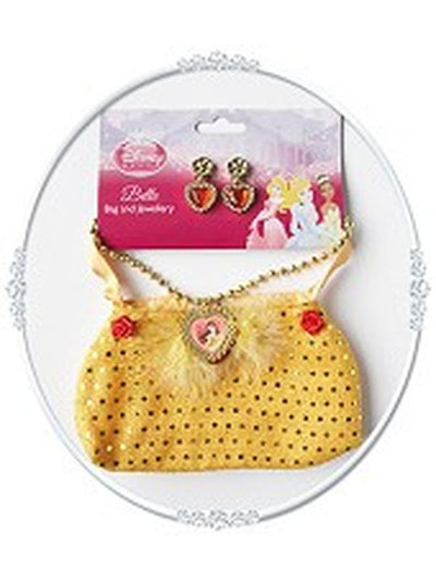 Belle Bag And Jewellery Set-Costume Accessories-Jokers Costume Hire and Sales Mega Store