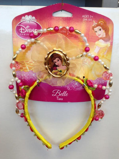 Belle Beaded Tiara-Hats and Headwear-Jokers Costume Hire and Sales Mega Store