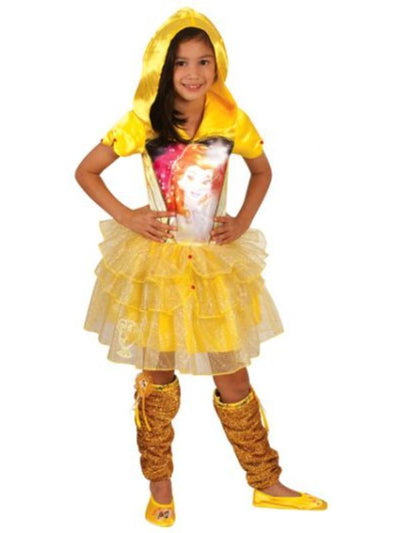 Belle Hooded Dress - Size 6-8-Costumes - Girls-Jokers Costume Hire and Sales Mega Store
