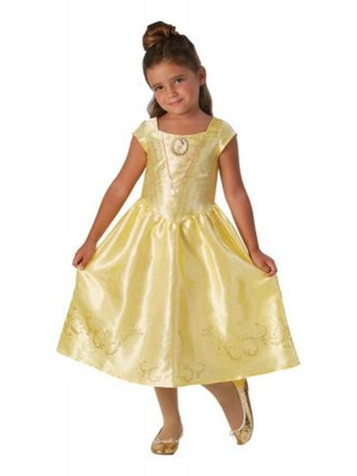 Belle Live Action Classic Costume - Size 6-8-Costumes - Girls-Jokers Costume Hire and Sales Mega Store