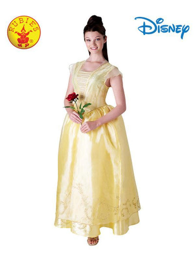 BELLE LIVE ACTION DELUXE ADULT COSTUME - SIZE L-Costumes - Women-Jokers Costume Hire and Sales Mega Store