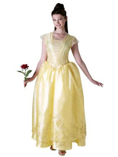 Belle Live Action Deluxe Adult Costume - Size S-Costumes - Women-Jokers Costume Hire and Sales Mega Store