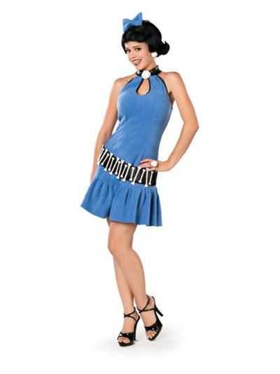 Betty Rubble Adult - Size S-Costumes - Women-Jokers Costume Hire and Sales Mega Store