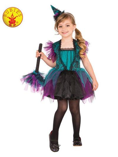 BEWITCHING COSTUME - SIZE XS-Costumes - Girls-Jokers Costume Hire and Sales Mega Store