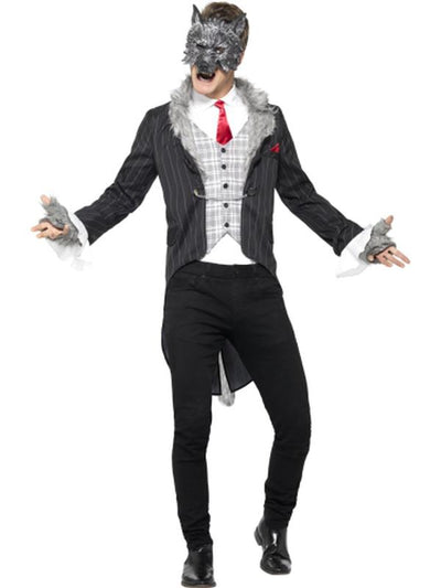 Big Bad Wolf Costume-Costumes - Mens-Jokers Costume Hire and Sales Mega Store