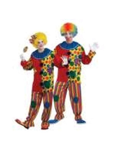 Big Top Clown Unisex Costume - Size Std-Costumes - Unisex-Jokers Costume Hire and Sales Mega Store