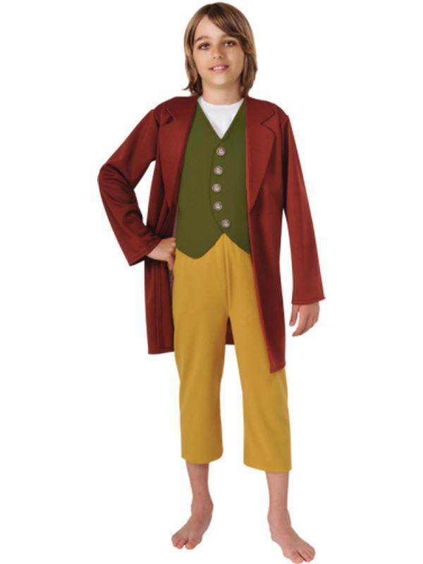 Bilbo - Size M-Costumes - Boys-Jokers Costume Hire and Sales Mega Store
