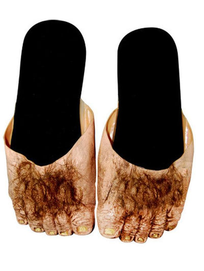 Billy Bob Big Ol Hairy Feet - Adult-Leg Wear-Jokers Costume Hire and Sales Mega Store