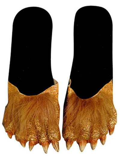 Billy Bob Werewolf Feet - Adult-Leg Wear-Jokers Costume Hire and Sales Mega Store