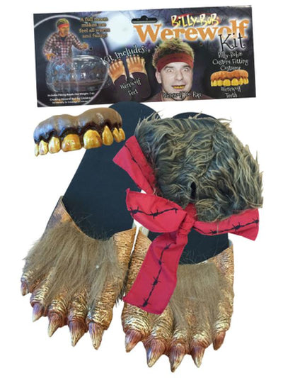 Billy Bob Werewolf Kit - Adult-Costumes - Mens-Jokers Costume Hire and Sales Mega Store