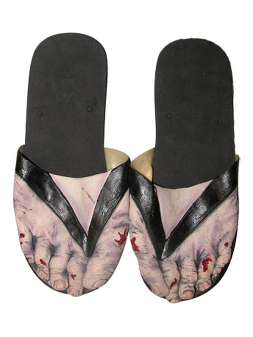 Billy Bob Zombie Feet - Adult-Leg Wear-Jokers Costume Hire and Sales Mega Store