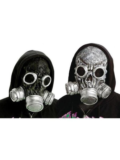 Bio Zombie Gas Mask-Masks - Basic-Jokers Costume Mega Store
