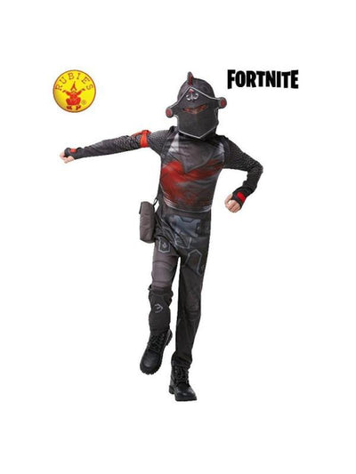 BLACK KNIGHT COSTUME, TWEEN-Costumes - Boys-Jokers Costume Hire and Sales Mega Store