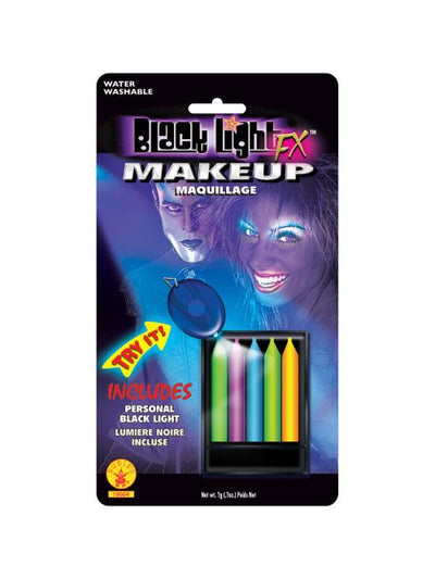 Black Lite 5 Colour Liner-Make up and Special FX-Jokers Costume Hire and Sales Mega Store