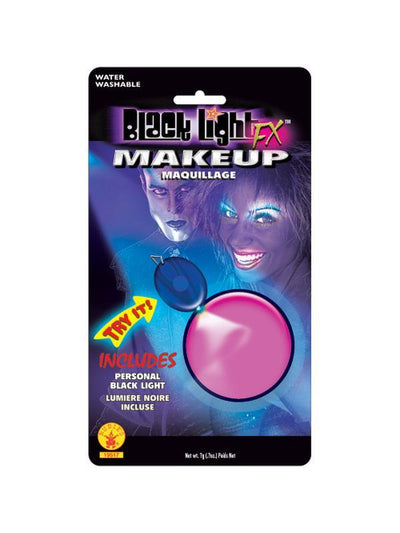 Black Lite Pink Make Up-Halloween Makeup & Special FX-Jokers Costume Hire and Sales Mega Store
