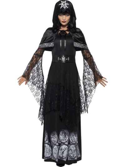 Black Magic Mistress Costume-Costumes - Women-Jokers Costume Hire and Sales Mega Store