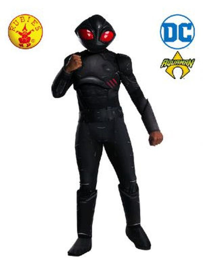 BLACK MANTA DELUXE COSTUME-Costumes - Mens-Jokers Costume Hire and Sales Mega Store