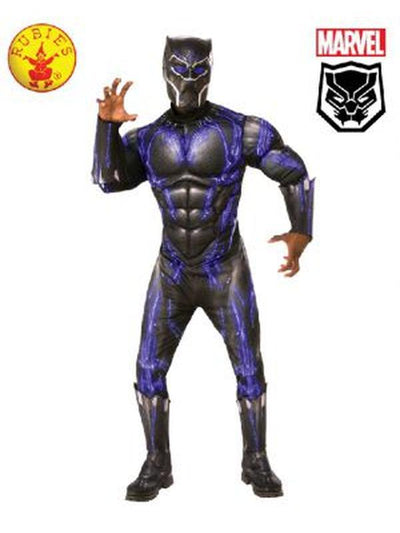 BLACK PANTHER BATTLE COSTUME-Costumes - Mens-Jokers Costume Hire and Sales Mega Store