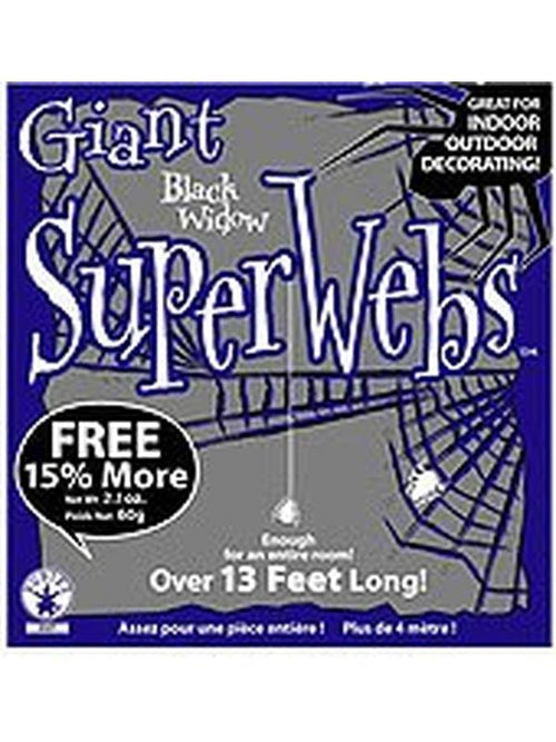 Black Spider Webbing-Halloween Props and Decorations-Jokers Costume Hire and Sales Mega Store