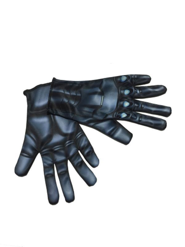 Black Widow Adult Gloves-Armwear-Jokers Costume Hire and Sales Mega Store