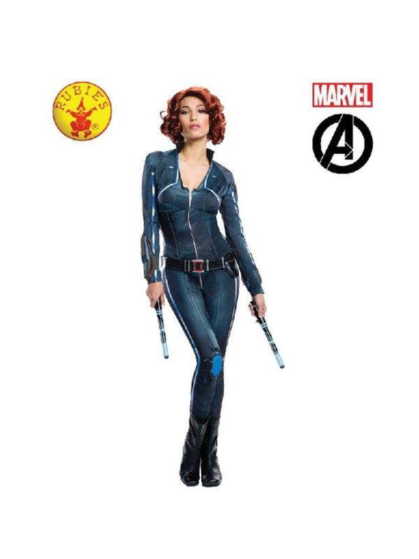 Black Widow Avengers 2 Secret Wishes - Size M-Costumes - Women-Jokers Costume Hire and Sales Mega Store