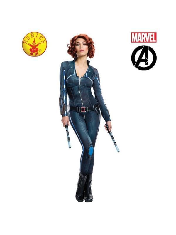 Black Widow Avengers 2 Secret Wishes - Size S-Costumes - Women-Jokers Costume Hire and Sales Mega Store