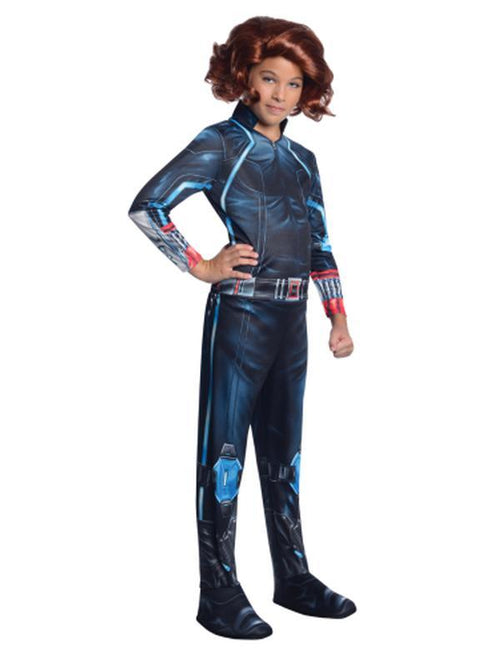 Black Widow Child - Size L-Costumes - Girls-Jokers Costume Hire and Sales Mega Store