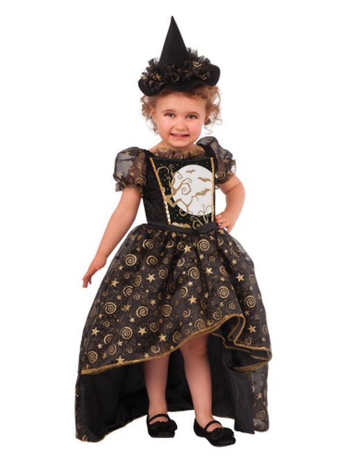 Black Witch - Size S-Costumes - Girls-Jokers Costume Hire and Sales Mega Store