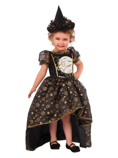 Black Witch - Size Toddler-Costumes - Girls-Jokers Costume Hire and Sales Mega Store