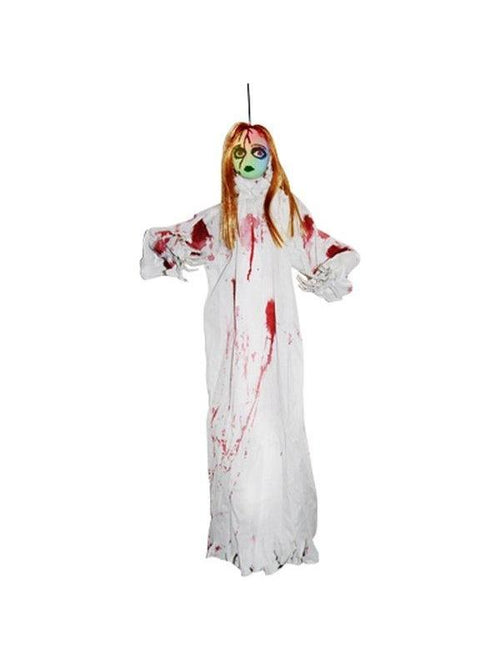 Bleeding Zombie Light Up Girl w3 Colour-Halloween Props and Decorations-Jokers Costume Hire and Sales Mega Store