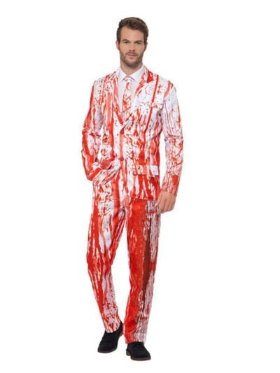 Blood Drip Suit-Costumes - Mens-Jokers Costume Hire and Sales Mega Store