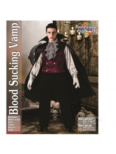 Blood Sucking Vampire-Costumes - Mens-Jokers Costume Hire and Sales Mega Store