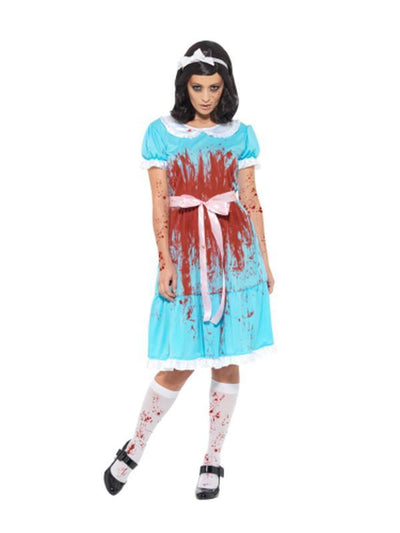 Bloody Murderous Twin Costume-Costumes - Women-Jokers Costume Hire and Sales Mega Store